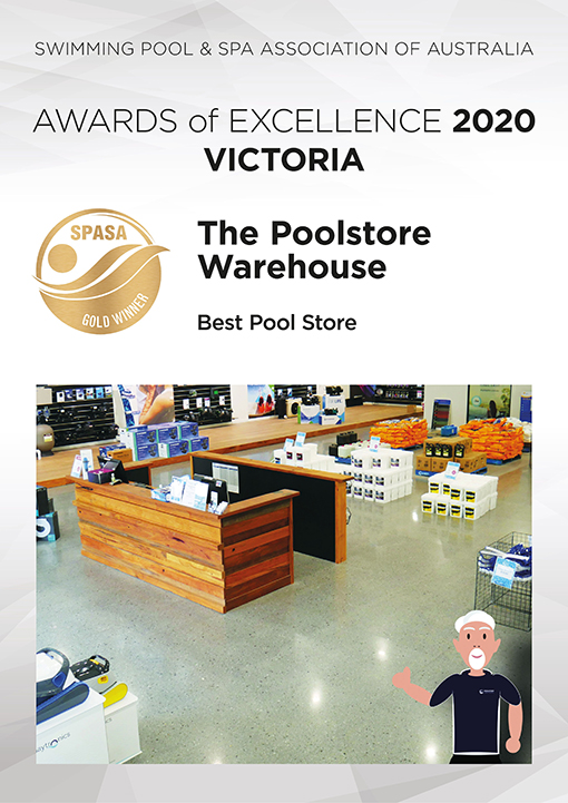 the poolstore warehouse awards