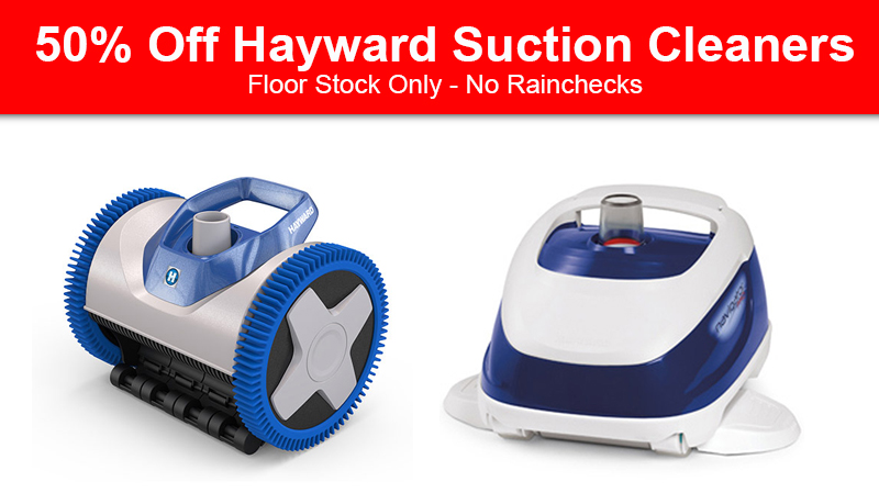 Hayward suction cleaner